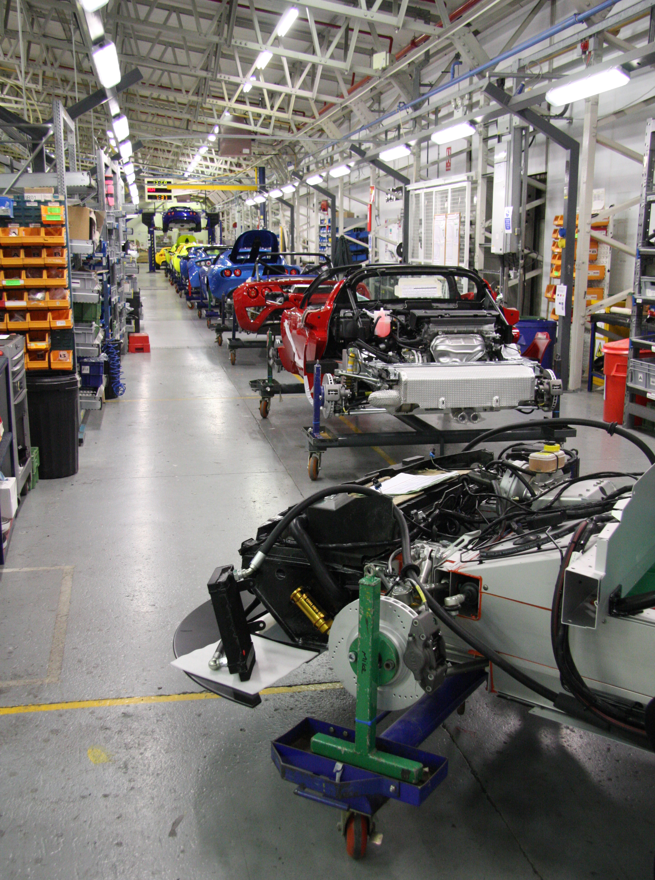 Vehicle Assembly Line : A project management toolkit beyond managing