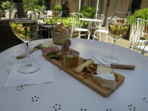 Wine and Cheese in Bordeaux