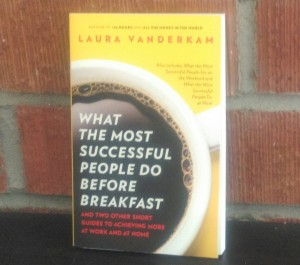 A copy of What the Most Successful People Do Before Breakfast